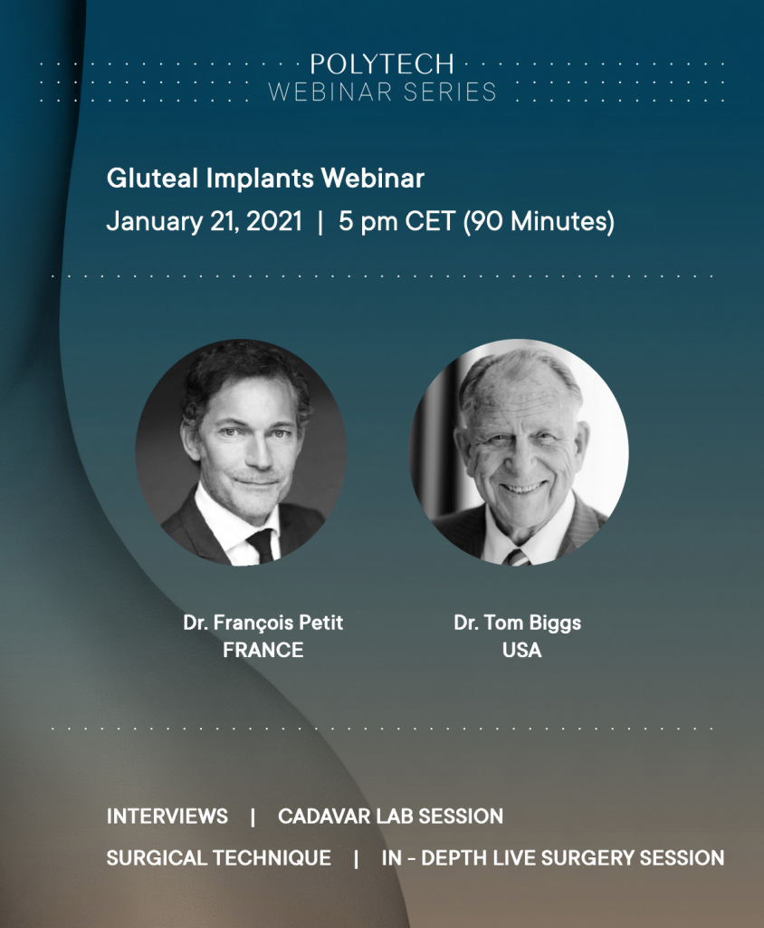 POLYTECH WEBINAR: GLUTEAL IMPLANTS
